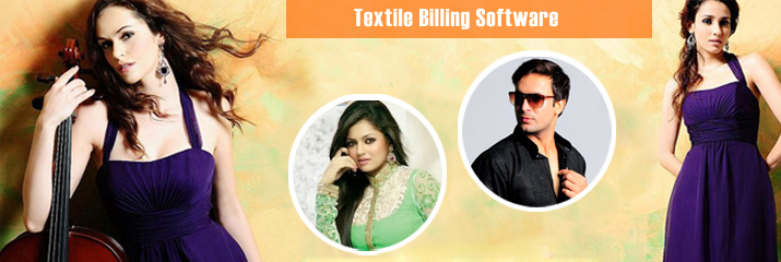 Textile Billing Sofware can be used globally.