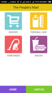 Grocery Android APP