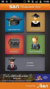Education directory Android app