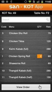 Restaurant_Order-Screen